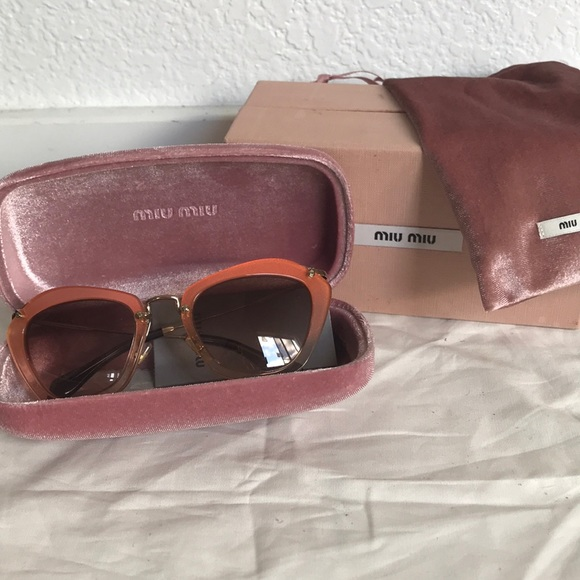 f02e5e57204 BRAND NEW AUTHENTIC MIU MIU SUNGLASSES. M 5b31b18234a4efdb77ce0608. Other  Accessories ...